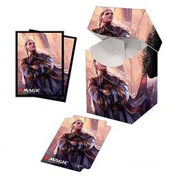 Combo Porta Mazo 100+ mas Protectores (100) - Commander Legends: Rebbec, Architect of Ascension