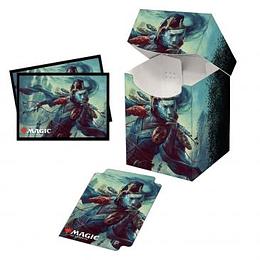 Combo Porta Mazo 100+ mas Protectores (100) - Commander Legends: Sakashima of a Thousand Faces