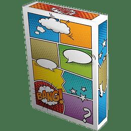 Comic Book Stor-Folio - Art - Pow