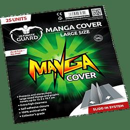 Bolsas para Mangas - Manga Cover Large (x25)
