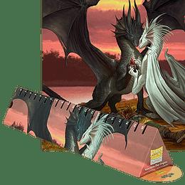 Playmat Dragon Shield - Valentine Dragons