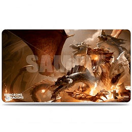 Playmat Dungeons & Dragons Cover Series: The Rise of Tiamat