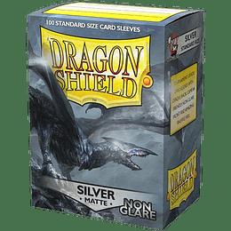Protector Dragon Shield Matte - Silver Non Glare (x100)