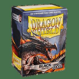 Protector Dragon Shield Matte - Negro Non Glare (x100)