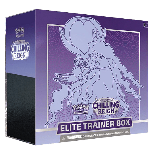 Elite Trainer Box - S&S Chilling Reign Shadow Rider Calyrex