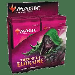 Caja de Collector Boosters Throne of Eldraine