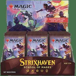 Caja de Set Booster Strixhaven (Inglés)