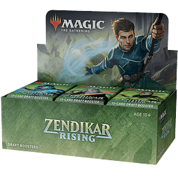 Caja de Sobres Zendikar Rising (Inglés)