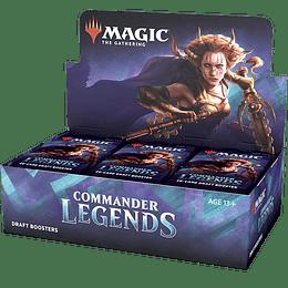 Caja de Sobres Commander Legends