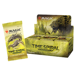 Caja de Sobres Time Spiral Remastered