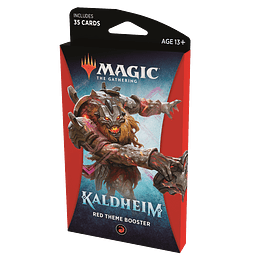 Kaldheim Theme Booster Pack - Red