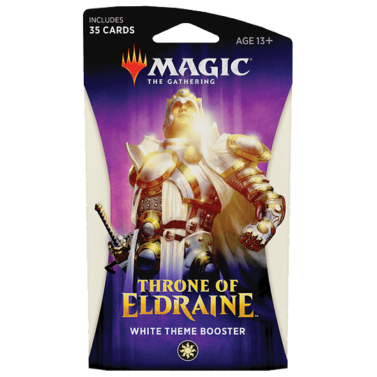 Throne of Eldraine Theme Booster Pack - White