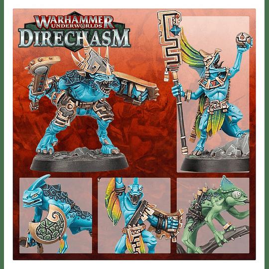 Warhammer Underworlds: Direchasm - Acechadores Sanguiestelados (Español)