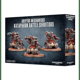 Adeptus Mechanicus: Kataphron Battle Servitors - Servidores De Batalla Kataphron