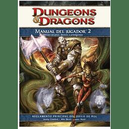 Dungeons & Dragons: Manual del Jugador 2 (4ta edición)(Español)(Con detalle)