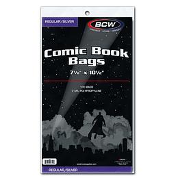 Comic Bags - Silver Age Bag (x100)