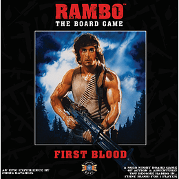Rambo the Board Game: First Blood (Inglés)