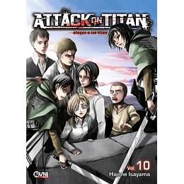 Attack on Titan Vol.10