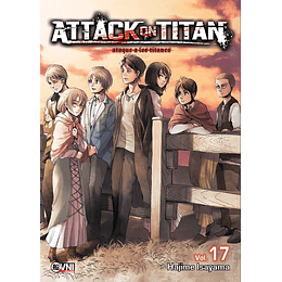 Attack on Titan Vol.17