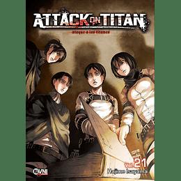 Attack on Titan Vol.21