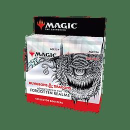 Caja de Collector Booster D&D Adventures in the Forgotten Realms