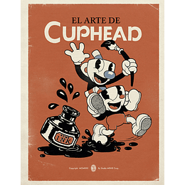 El Arte De Cuphead (Con detalle en portada)