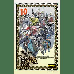 Monster Hunter Flash Vol.10 + Cofre