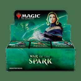 Caja de sobres War of the Spark (Inglés)