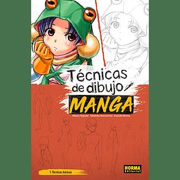 Técnicas de Dibujo Manga 1: Técnicas Básicas