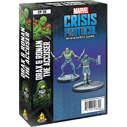 Marvel Crisis Protocol: Drax and Ronan The Accuser Character Pack