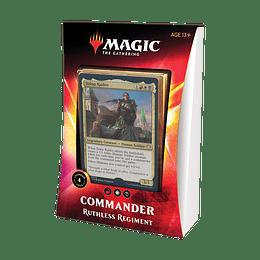 Commander 2020 - Ruthless Regiment (Inglés)