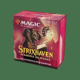 Pack Presentación Strixhaven - Sapiéntium (Español)