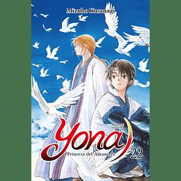 Yona Princesa Del Amanecer Vol.22 (Ligeramente doblado)