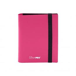 Carpeta Ultra-Pro 2 bolsillos Eclipse - Hot Pink
