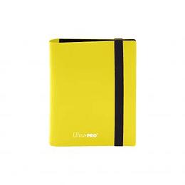 Carpeta Ultra-Pro 2 bolsillos Eclipse - Amarillo Limón  - Lemon Yellow