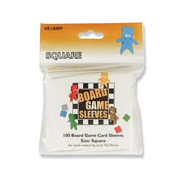 Board Game Sleeves - Square (70x70mm)
