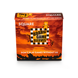 Board Game Sleeves - Non Glare - Square (70x70mm)