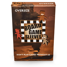 Board Game Sleeves - Non Glare - Oversize (79x120mm)