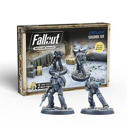 Fallout: Wasteland Warfare - Enclave: Soldier Set