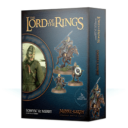 The Lord of the Rings: Éowyn & Merry (Inglés)