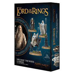 The Lord of the Rings: Saruman The White & Grima