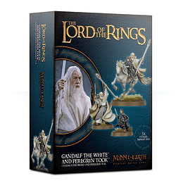The Lord of the Rings: Gandalf the White and Peregrine Took (Inglés)