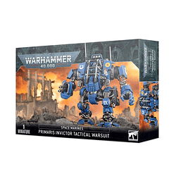 Space Marines: Primaris Invictor Tactical Warsuit - Exoesqueleto Táctico Invictor Primaris