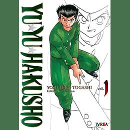 Yu Yu Hakusho Kanzenban Vol.01
