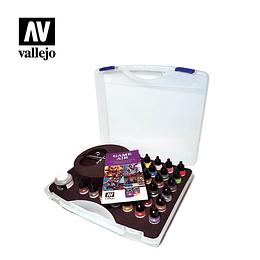 Set de aerógrafo + pinturas Game Air en Maletín - Basic Game Air Colors & Airbrush