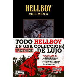 Hellboy: Edición Integral Volumen 3 (Tapa Dura)