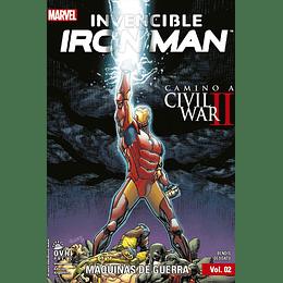 Invencible Iron Man Vol.02: Maquinas de Guerra
