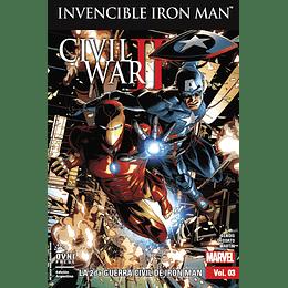 Invencible Iron Man Vol.03: La 2da Guerra Civil De Iron Man