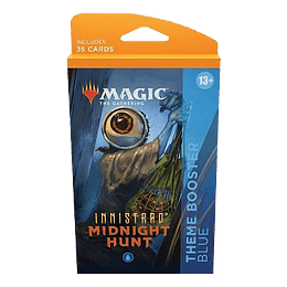 Innistrad Midnight Hunt Theme Booster Pack - Blue