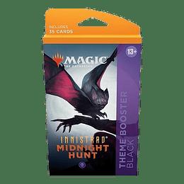 Innistrad Midnight Hunt Theme Booster Pack - Black